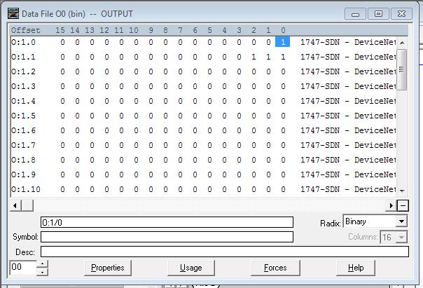 SDN in Run Mode - Data File Output