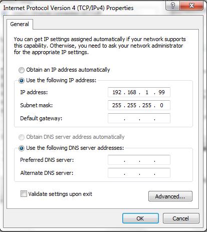Set IP Address