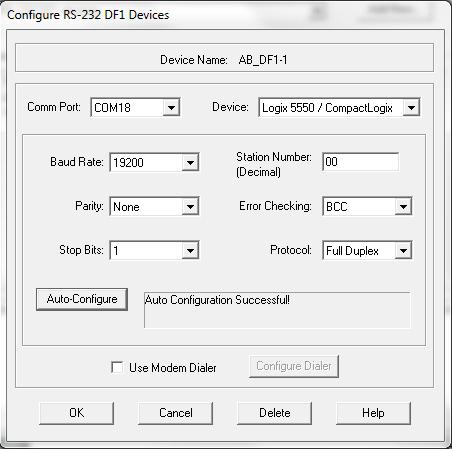Auto-Configure - Auto Configuration Successful!