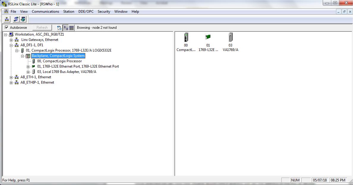 Expand Tree to set IP Address
