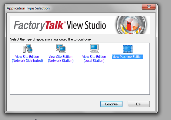 Factorytalk View Studio Machine Edition