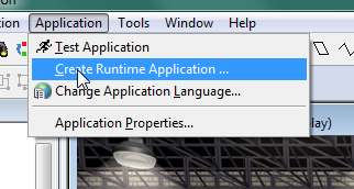 Create Runtime Application