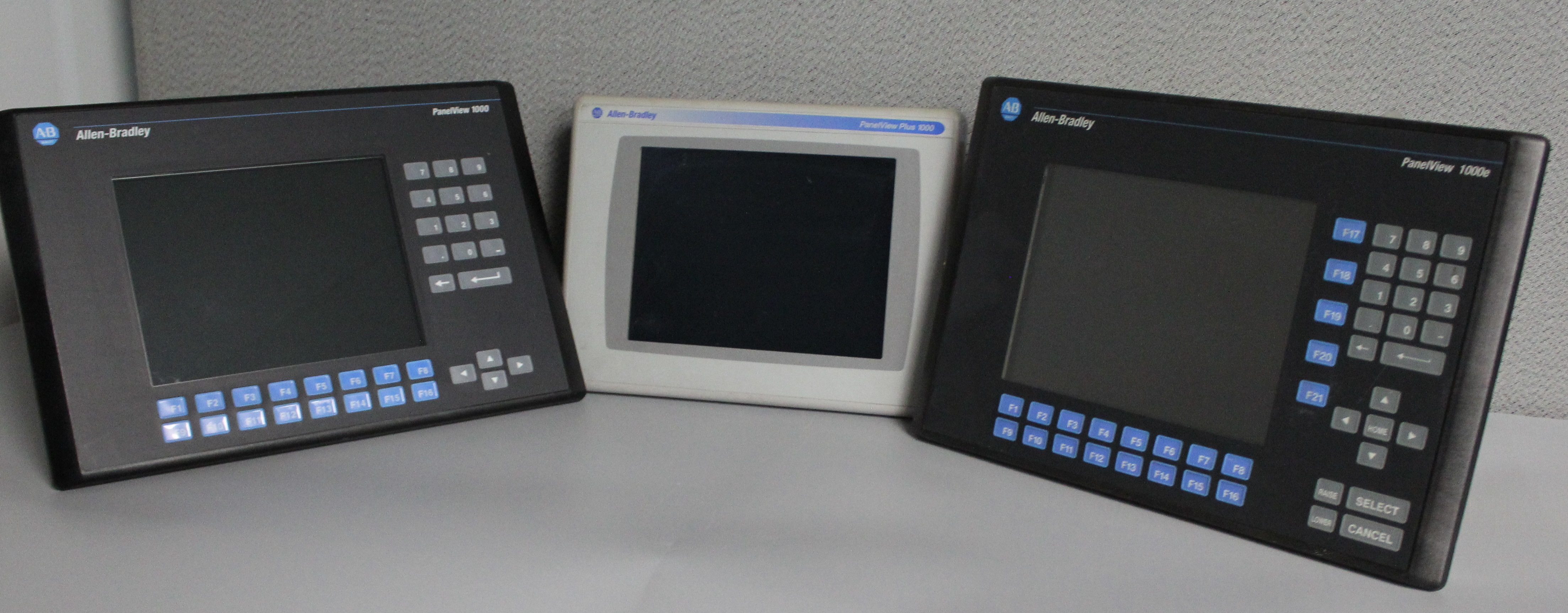Hardware Comparison: Panelview 1000, Panelview Plus, and Panelview 1000E