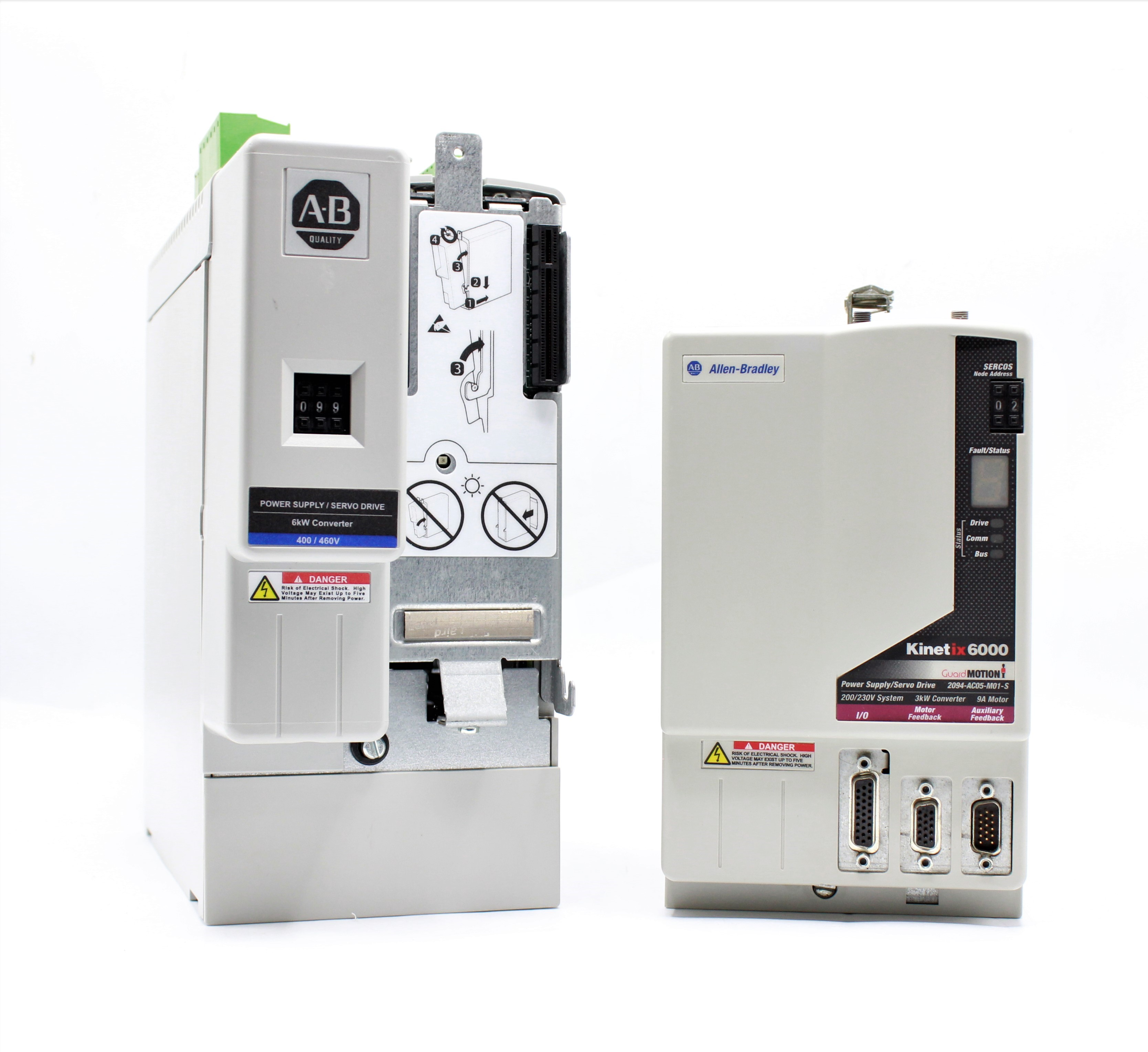 Hardware Comparison: Kinetix 6000 vs. 6200