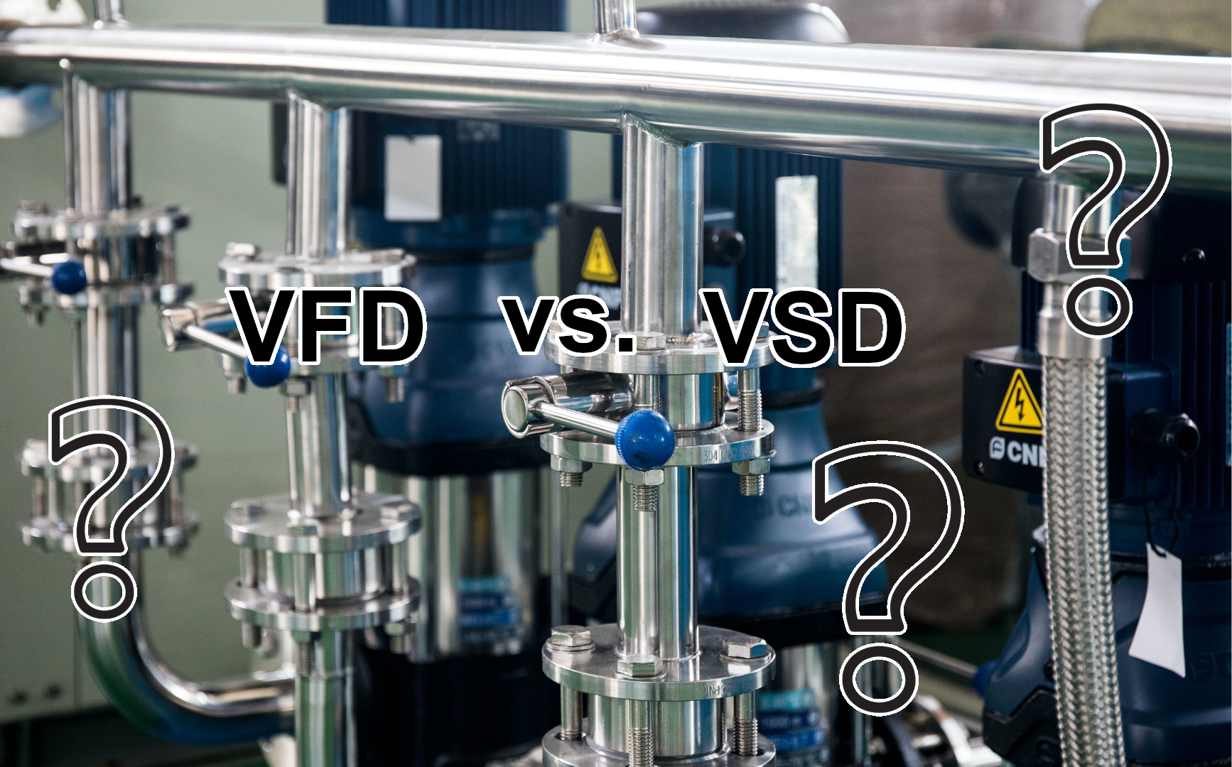 Variable Frequency Drives vs Variable Speed Drives