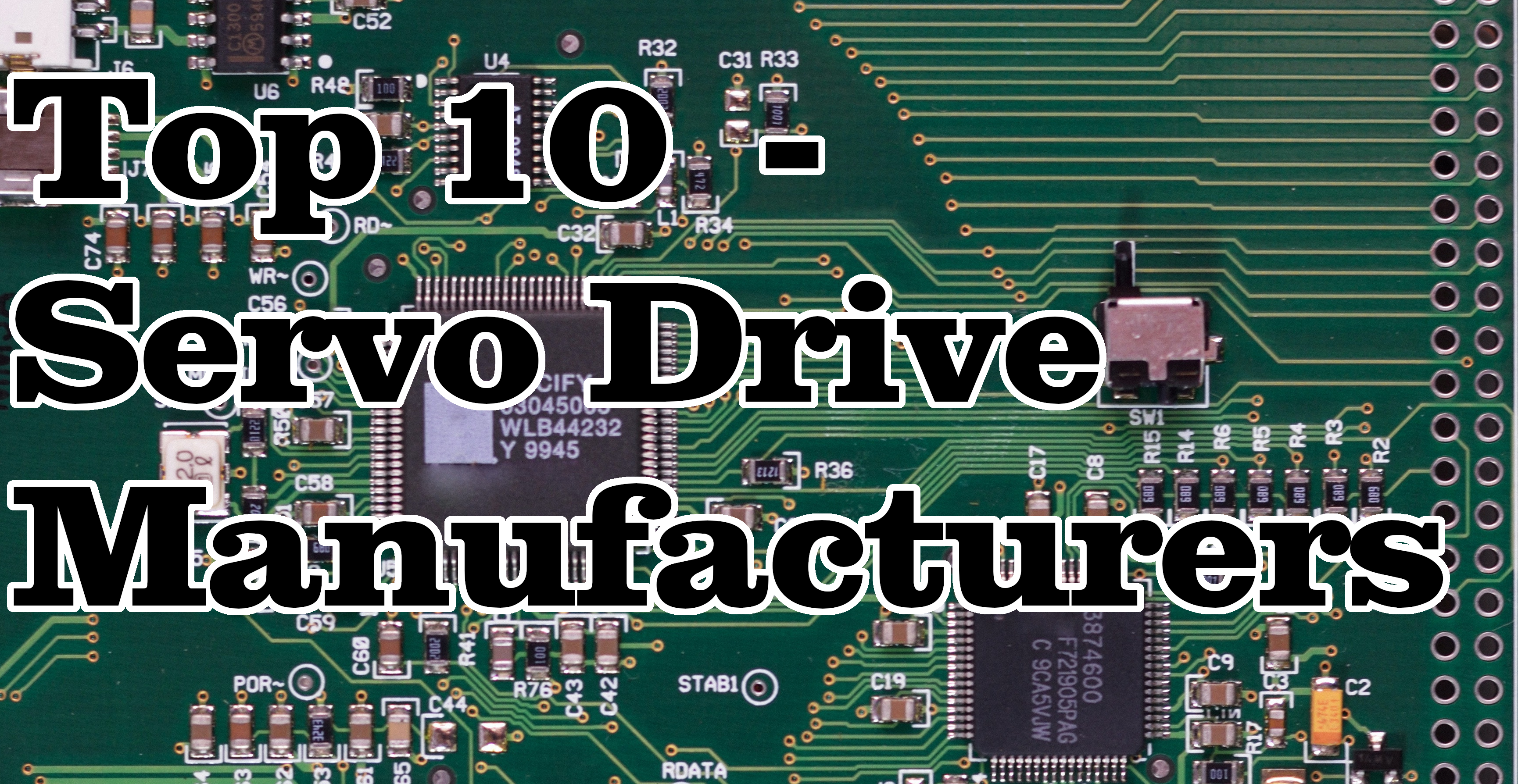Top 10 Servo Drive Manufacturers in Industrial Automation